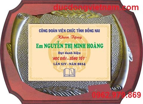 bang khen go dong,bang khen bang dong