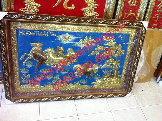 tranh ngua bang dong mung tan gia