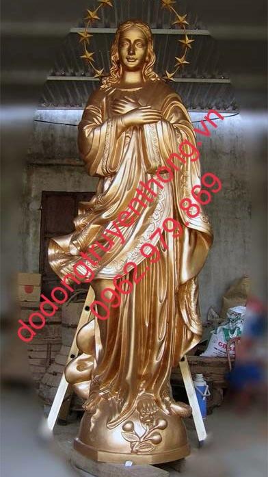 Đúc tượng đồng đức mẹ maria và chúa giesu