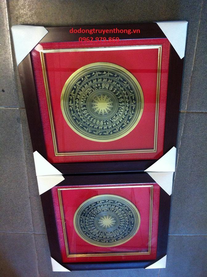tranh mặt trống đồng quà tặng khách hàng thân thiết