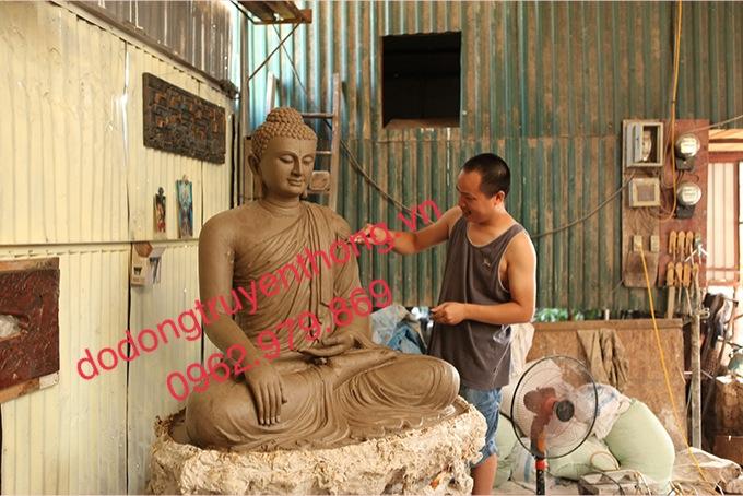 tạo mẫu tượng phật bổn sư theo yêu cầu