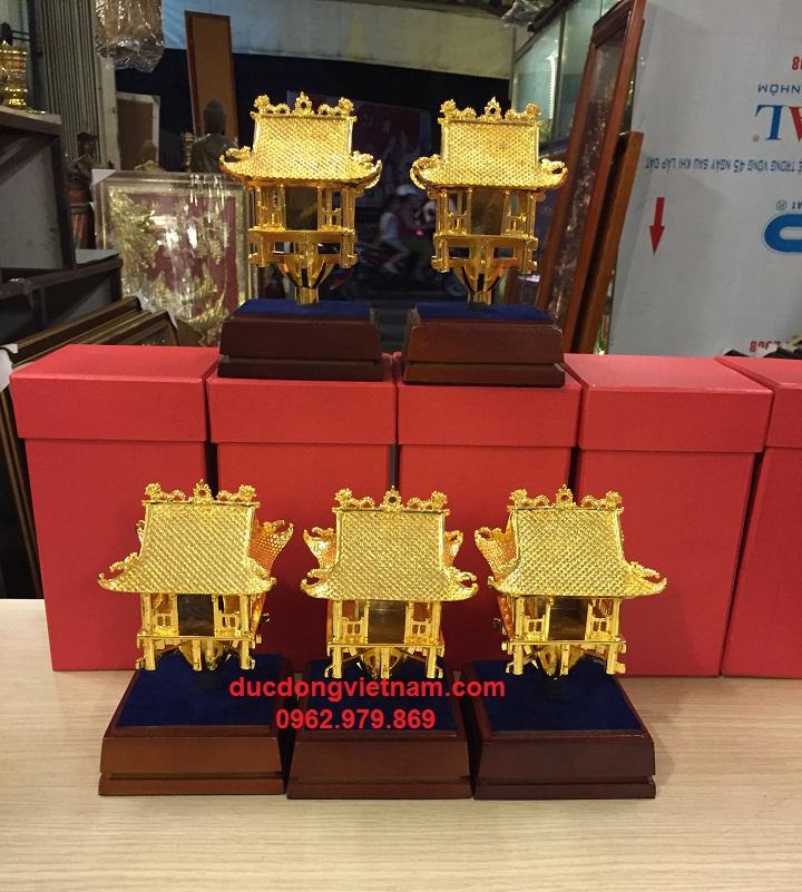 tượng chùa 13 cm mạ vàng 24k nguyên chất