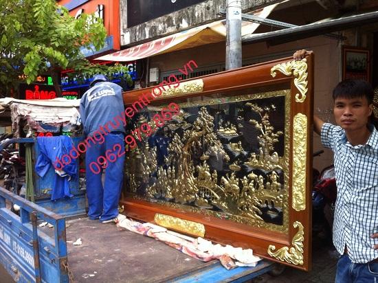 cửa hàng bán tranh đồng vinh qui bái tổ