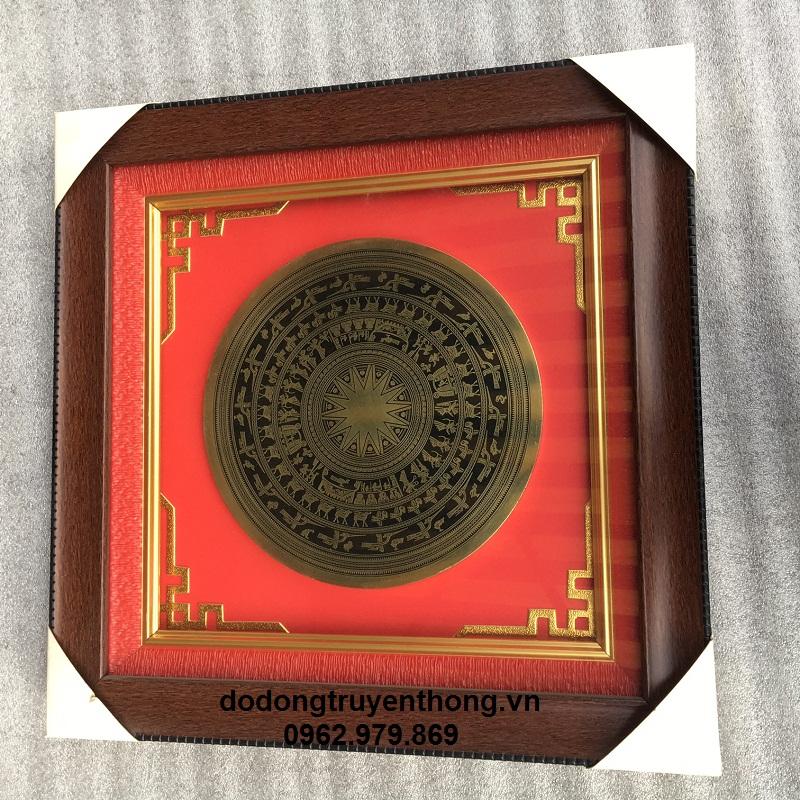 Mặt trống đồng lưu niệm tặng khách hàng