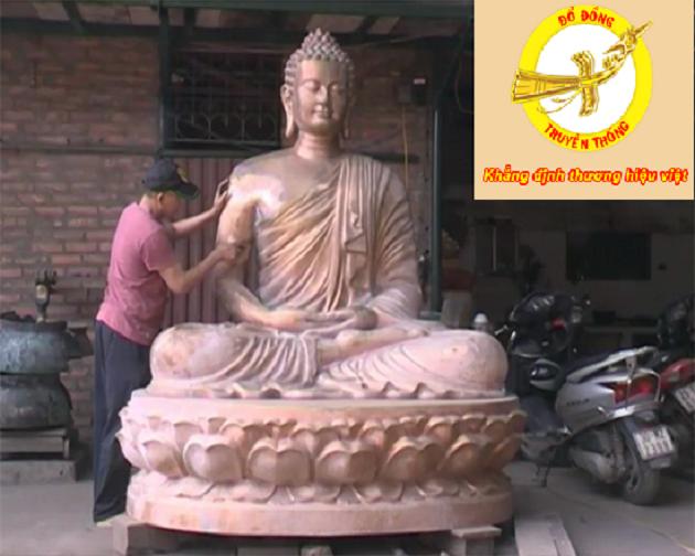 nhận đúc tượng phật tại chùa giá tốt