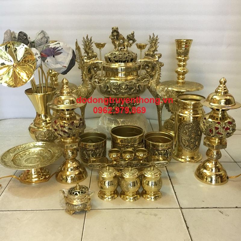 Công ty cung cấp đồ thờ cúng bằng đồng chất lượng nhất VIệt Nam