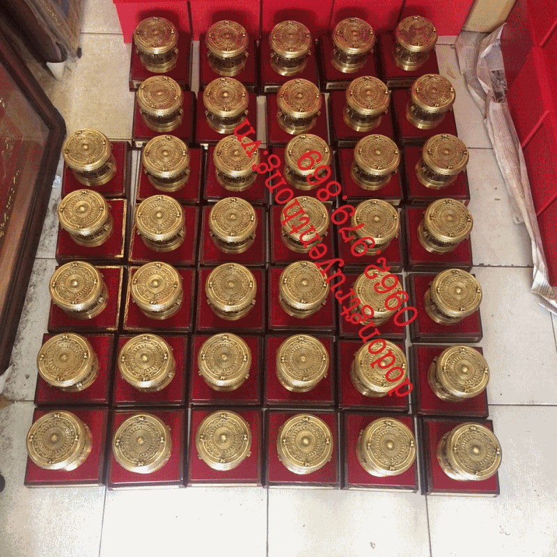 Bán trống đồng quà tặng 8 cm