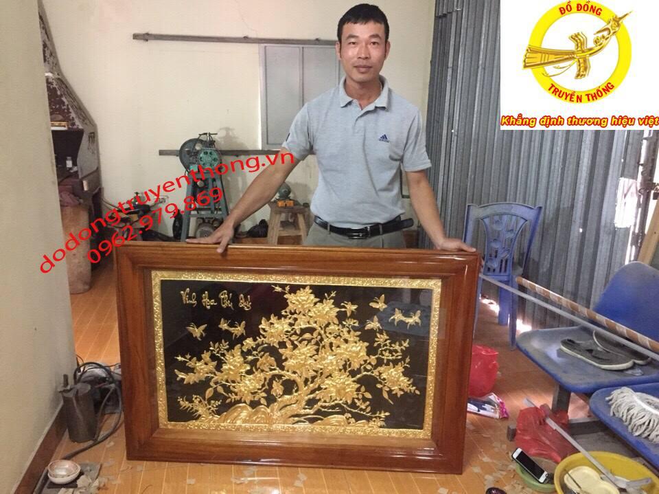cửa hàng bán tranh đồng dát vàng chất lượng
