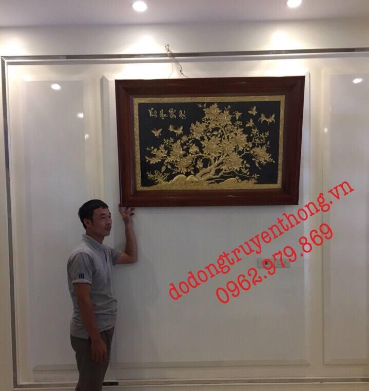 Bán tranh đồng mạ vàng tại Hà Nội