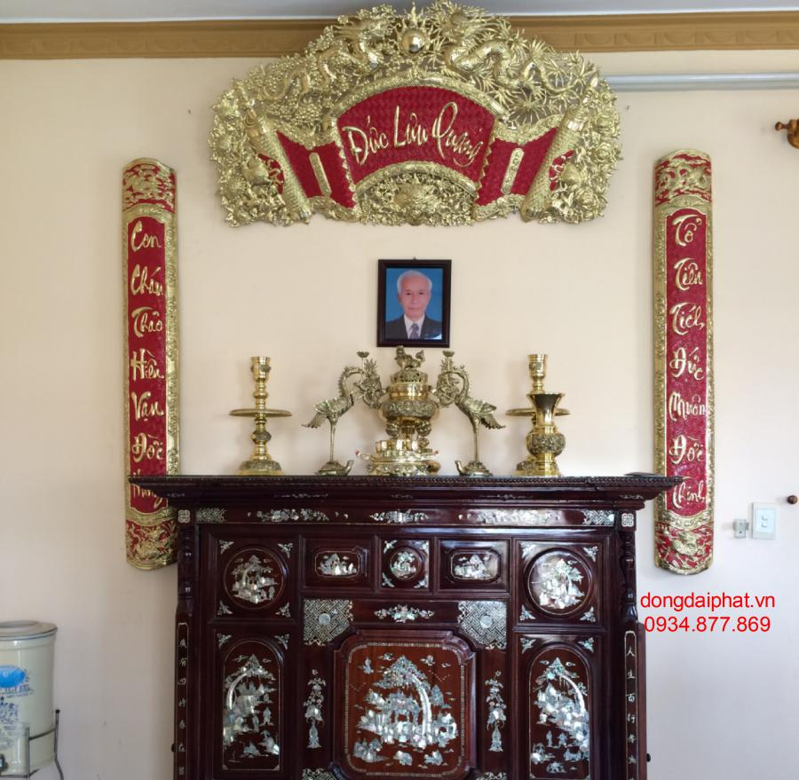 Cách bày lư đồng trên bàn thờ cửu huyền